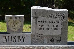 Mary Anner <i>Eubanks</i> Busby