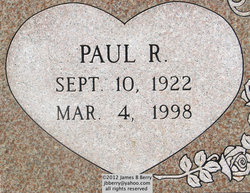 PFC Paul Ralph Bertrand