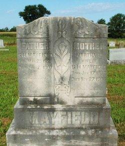 Martha E <i>Rice</i> Mayfield