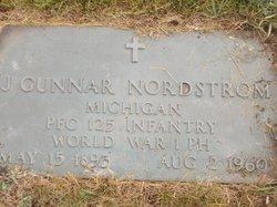 J Gunnar Nordstrom