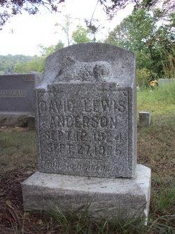 David Lewis Anderson