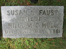 Susan Libbie <i>Faust</i> Hull