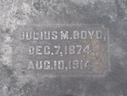 Julius M Boyd