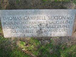 Dr Thomas Campbell Sexton