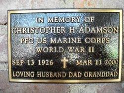 PFC Christopher Howard Adamson