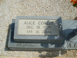 Alice Gertrude <i>Corley</i> Addy