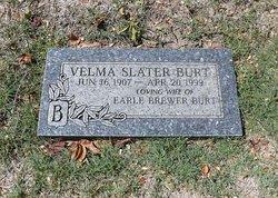 Velma Ethel <i>Slater</i> Burt