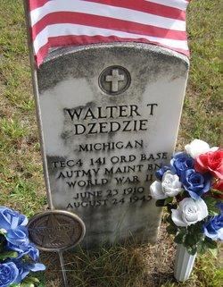 Sgt Walter T Dzedzie