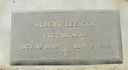 Sgt Albert Lee Cox