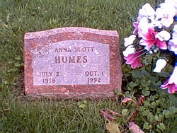 Anna Alberta <i>Solomon</i> Humes