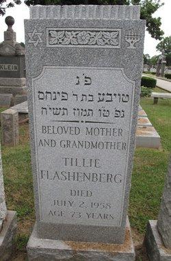 Tillie <i>Rosenbaum</i> Flashenberg