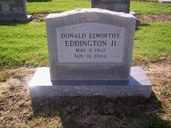 Donald Elworthy Eddington, II
