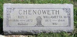 Willametta M <i>Mann</i> Chenoweth