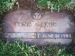 Erna Meta <i>Lemke</i> Baur