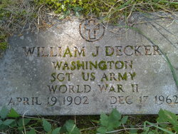 Sgt William J.K. Decker