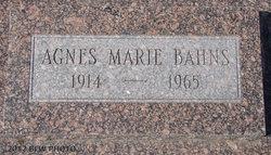 Agnes Marie <i>Reichmuth</i> Bahns