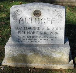 Edward J Althoff, Jr