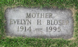 Evelyn Helen <i>Myers</i> Bloser