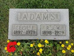 Rebecca Jane <i>Wimer</i> Adams