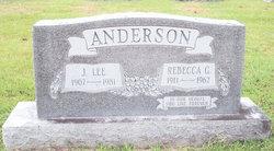 Rebecca Louise <i>Garner</i> Anderson