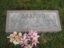 Edward D Bickford