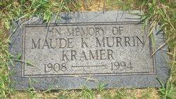 Maude K. <i>Murrin</i> Kramer