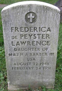Frederica dePeyster Lawrence Fritzie Barber