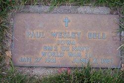 Paul Wesley Bell