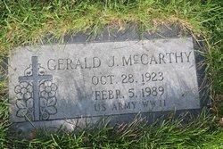 Gerald J McCarthy