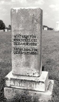 Sarah <i>Moore</i> Hamilton