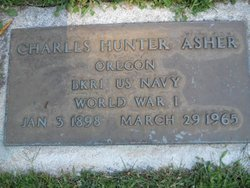 Charles Hunter Charley Asher