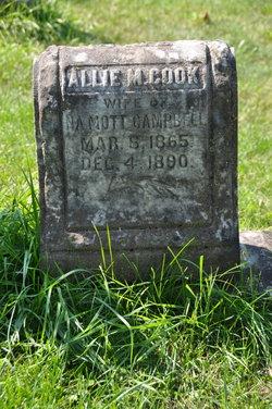 Allie M. <i>Cook</i> Campbell