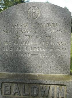 Elizabeth <i>Hickok</i> Baldwin