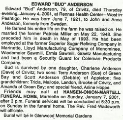 Edward Bud Anderson