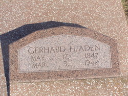 Gerhard H Aden