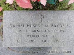 Daniel Hubert McBryde