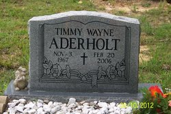 Timmy Wayne Aderholt