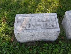 Minnie E Allman