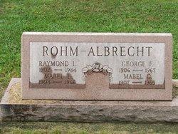 George F Albrecht