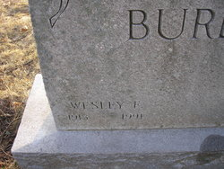 Wesley F Burdick