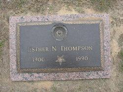 Esther N Thompson