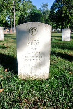 Pvt Fred King