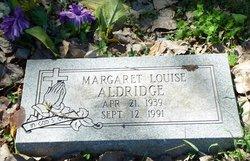 Margaret Louise Aldridge