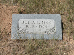 Julia Lydia <i>Hamlin</i> Orr
