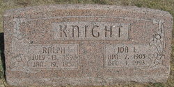 Ida Lucinda <i>Sanders</i> Knight