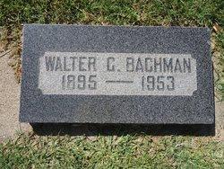 Walter Mathew Bachman