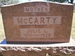 Julie L McCarty