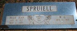 Billie Jean <i>Strawn</i> Spruiell