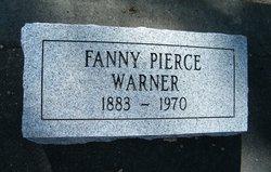 Fanny Brickell <i>Pierce</i> Warner