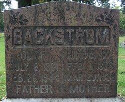 Hilma Wilhelmina <i>Peterson</i> Backstrom
